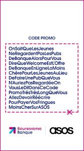 Code promo Boursorama asos