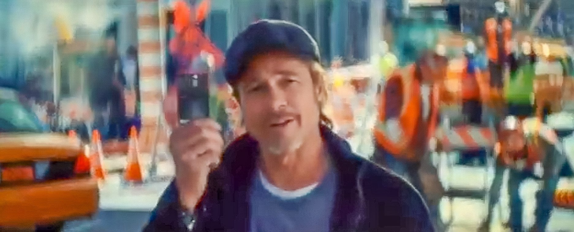 Brad Pitt fait la promo Boursorama